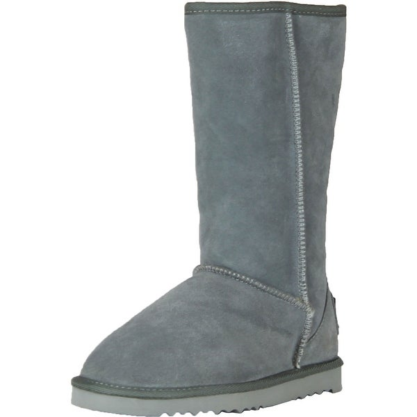 Silver Dew Womens Gloria-02 Real Suede Fashion Boots