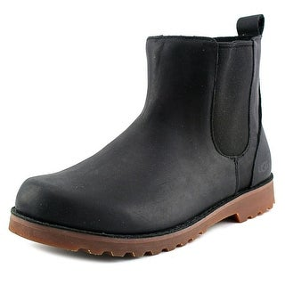 Ugg Australia Callum Youth Round Toe Synthetic Black Rain Boot