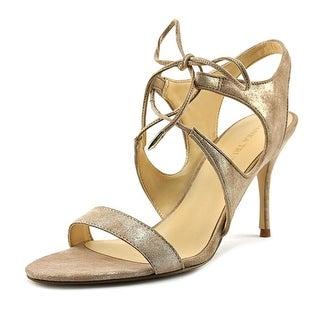 Ivanka Trump Garver   Open Toe Leather  Sandals