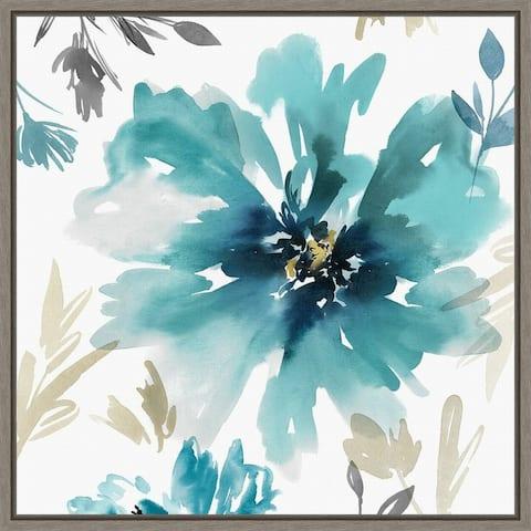 Finesse II (Flower) by Isabelle Z Framed Canvas Art