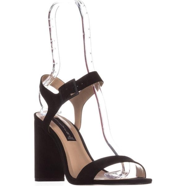 STEVEN Steve Madden Eisla Ankle Strap Sandals, Black