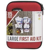 Lifeline 568206 Hard-Shell Foam First Aid Kit, Small - 30 Piece