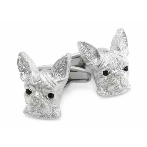 Boston Terrier Dog Animal Cufflinks
