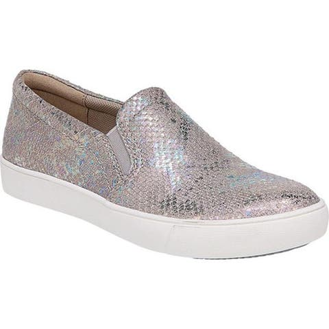 7f120e1127c9 Naturalizer Women s Marianne Slip-on Sneaker Silver Snake Leather. Was.   59.95.  25.99 OFF. Sale  33.96