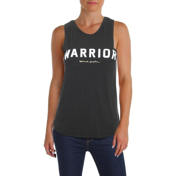 Shop Spiritual Gangster Womens Warrior Tank Top Modal Blend Crew Neck -  Free Shipping On Orders Over  45 - Overstock.com - 23445746 7b51108e22