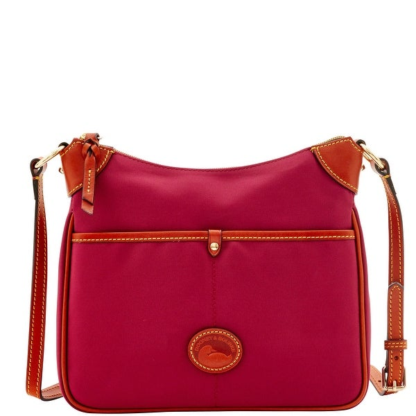 Dooney & Bourke Nylon Kimberly (Introduced by Dooney & Bourke at $159 in Jul 2016) - CRANBERRY
