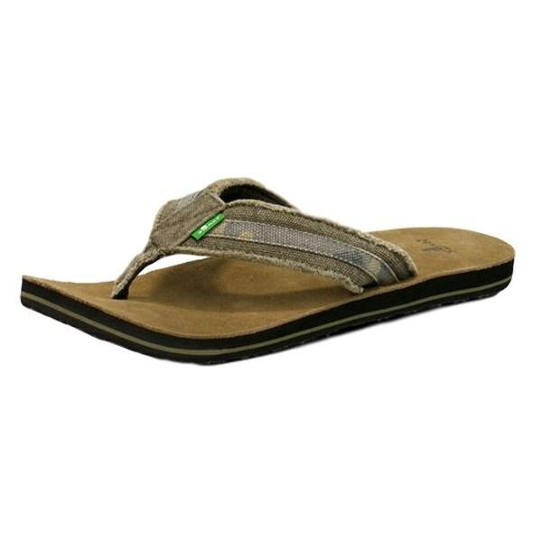 4fe3778d50ab2 Shop Sanuk Casual Shoes Mens Fraid So Frayed Canvas Strap Edge ...