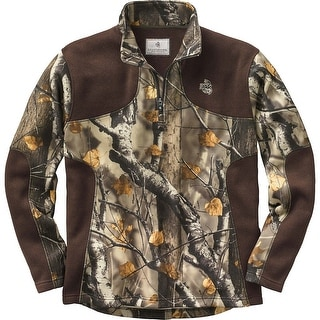 Legendary Whitetails Men's Apex II Quarter Zip Fleece Sweater