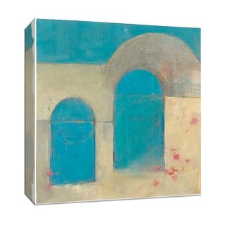 "PTM Images 9-153098  PTM Canvas Collection 12"" x 12"" - ""Sibari"" Giclee Abstract Art Print on Canvas"
