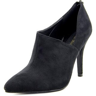 Wild Diva Miller-01 Women Pointed Toe Synthetic Bootie