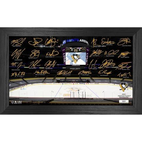Pittsburgh Penguins 2021 Signature Rink - 12X20