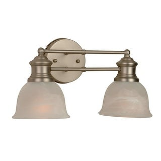 Craftmade 19812 Lite Rail 2 Light Bathroom Vanity Light - 15.5 Inches Wide (2 options available)