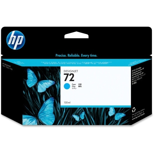 HP 72 DesignJet Ink Cartridge - Cyan (20 Units) HP 72 Cyan Ink Cartridge - Cyan - Inkjet - 1 Each