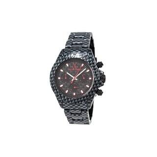 Toy Watch Bracelet Watches FLE05CA Unisex Black Carbon Fiber Print Watches - --