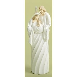 "10"" Good Tidings Battery Operated LED Lighted Holy Family Christmas Nativity Figure"