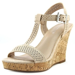 Charles By Charles David Law   Open Toe Synthetic  Wedge Sandal
