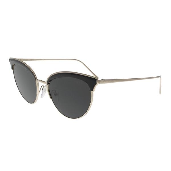 a1404e84f6 Prada PR60VS AAV5S0 CONCEPTUAL Pale Gold Black Cateye Sunglasses - 54-18-145