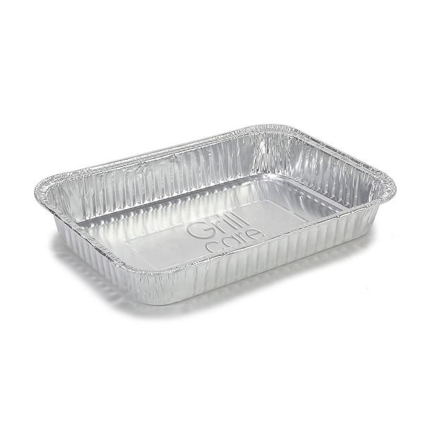 Shop Grill Care 16415 Drip Pans Foil Aluminum 10 Pack