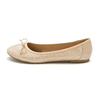 Report Womens Marlee Closed Toe Slide Flats