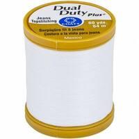 Coats 1750 Dual Duty Plus Jean & Topstitching Thread 60yd-White