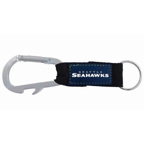Seattle Seahawks Carabiner Keychain