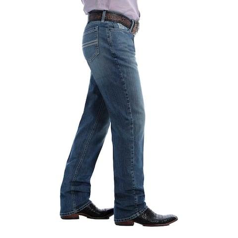 Cinch Western Jeans Mens March Silver Label Slim Straight