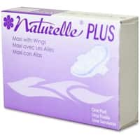 Impact Products IMP25189973 Naturelle Plus Sanitary Napkins, White