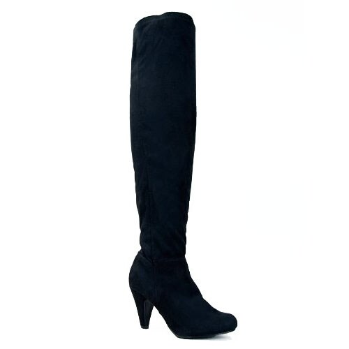 Qupid Method-01 Stretchy Over The Knee Thigh High Heel Sexy Boot