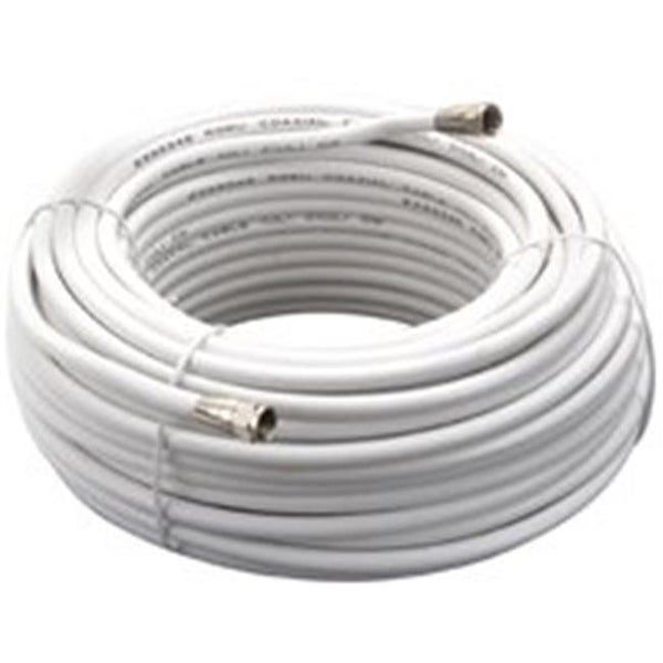 American Tack & Hdwe VG110006W Coaxial Cable Rg6 100 Ft. - White