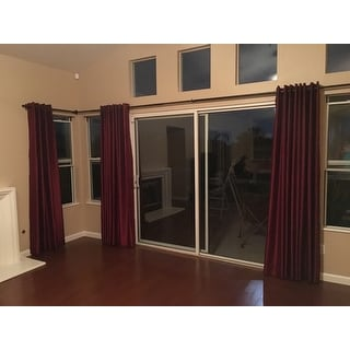 Indoor/Outdoor Adjustable Curtain Rod - Free Shipping Today ...