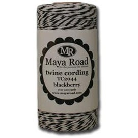 Blackberry - Maya Road Twine Cording 100Yd