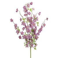 Pack of 6 Purple Floral Decorative Artificial Holiday Spray 22""