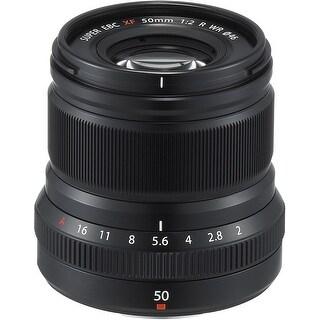 Fujifilm Fujinon XF50mmF2 R WR Lens (Black) - Black