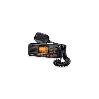 Uniden UM 380 Black Fixed Mount VHF Marine Radio With Weather Alert