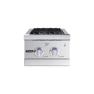 Viking VGSB5153N 30,000 BTU 15 Inch Wide Stainless Steel Natural Gas Side Burner