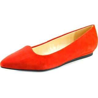 Isaac Mizrahi Rosy Pointed Toe Suede Flats