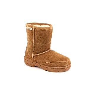 Bearpaw Meadow Youth Round Toe Suede Brown Snow Boot