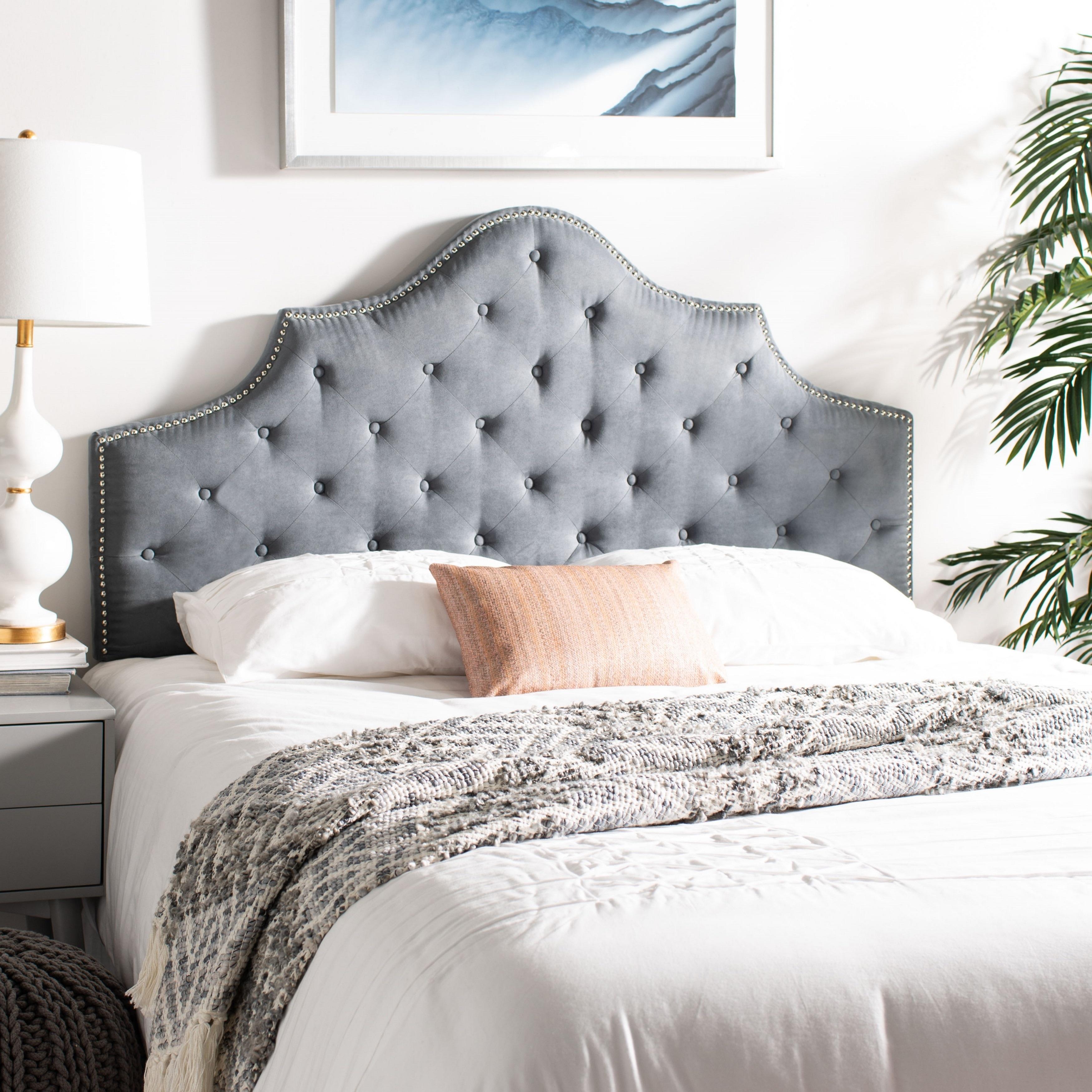 Safavieh Arebelle Grey Upholstered
