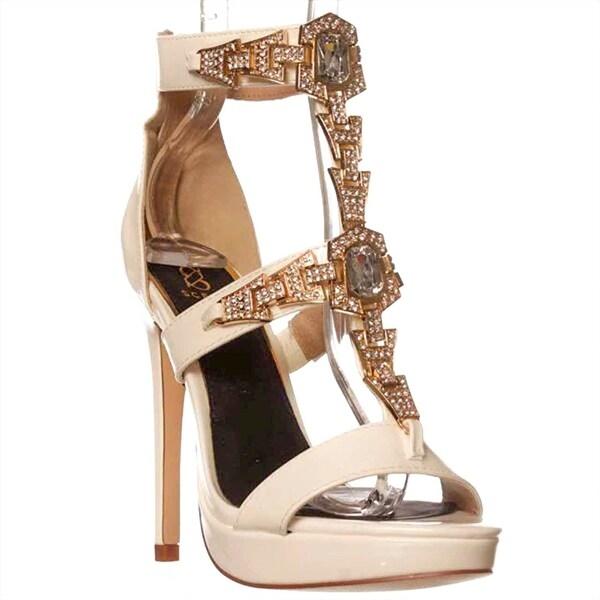 Scene Youselina Dress Sandals - White - 6