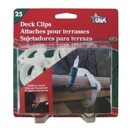 Adams 25Pk Deck Clip
