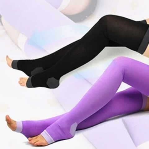 Pair of Slimming Compression Socks