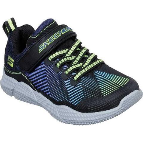 premium selection f2f40 9d911 Skechers Boys  Intersectors Protofuel Sneaker Black Blue Lime