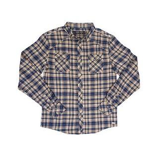 Farm Boy Western Shirt Mens Long Sleeve Flannel Navy F13863008