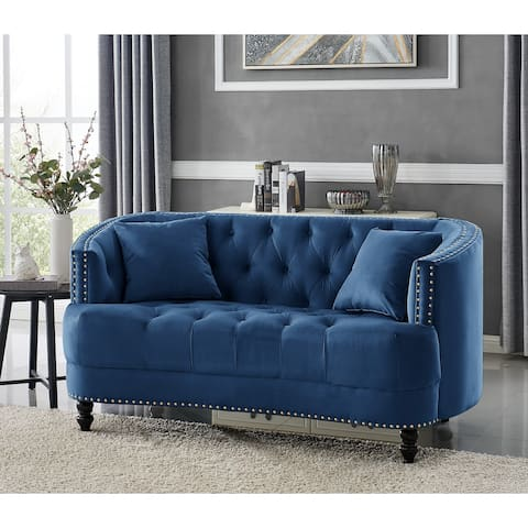 Chic Home Holly Love Seat Modern Transitional