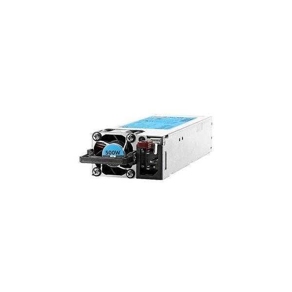 HPE - Power supply - hot-plug / redundant ( plug-in module ) - Flex Slot - 80 PLUS Platinum - AC 100-240 V - 500 Watt - 564 VA