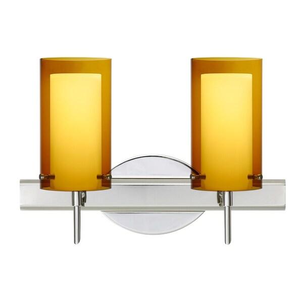 Corbett Lighting Sales Rep: Shop Besa Lighting 2SW-G44007 Pahu 2-Light Reversible