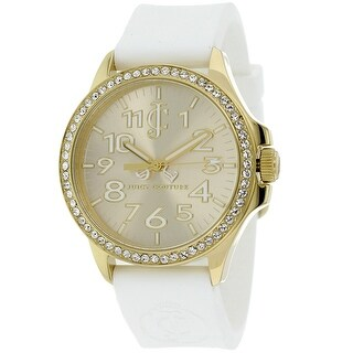Juicy Couture Women's Jetsetter 1900966 Gold Dial watch