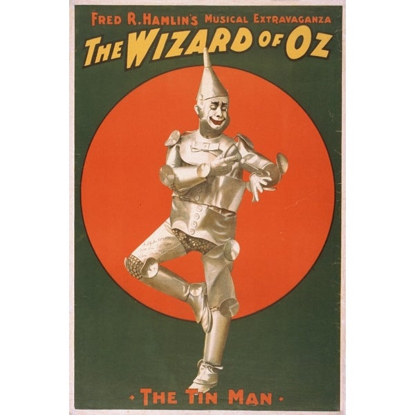 The wizard of Oz Musical Theatre #2 - Vintage Theater Advertisement (Keepsake Tin)