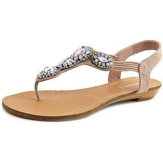 Madden Girl Tuzie Women Open-Toe Canvas Slingback Sandal