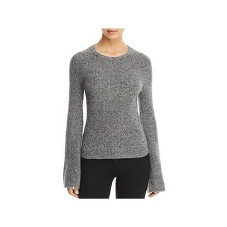 Theory Womens Pullover Sweater Cashmere Marled